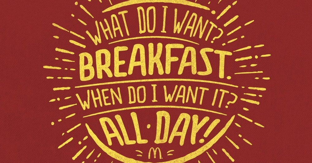 McDonald's (finally) listened to their customers by offering breakfast items all day. Now they're cashing in.