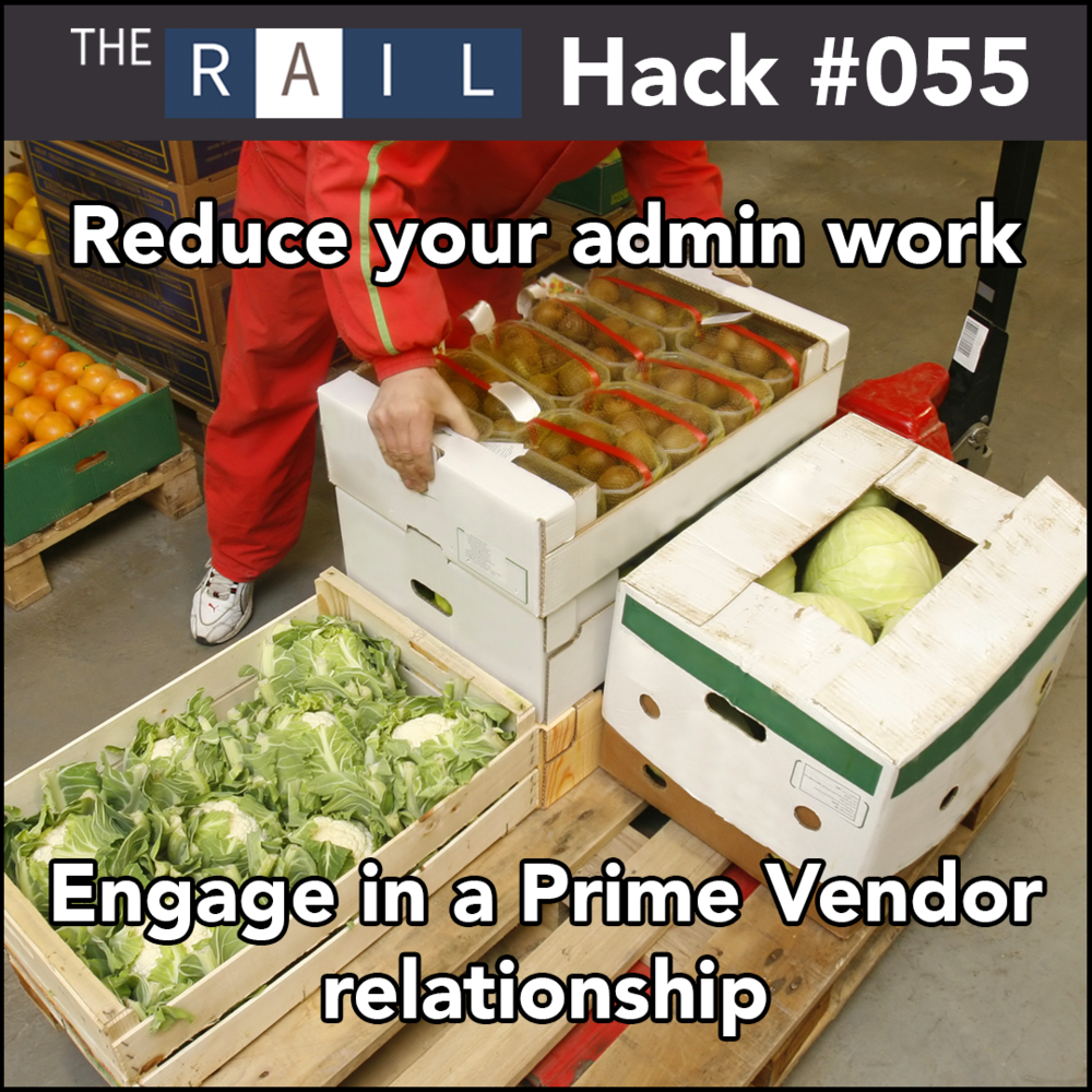 Save some headaches and possibly some cash by engaging in a prime vendor relationship
