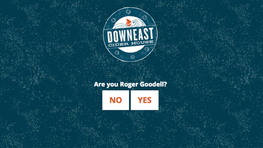 Downeast Cider House is trolling NFL Commissioner Roger Goodell