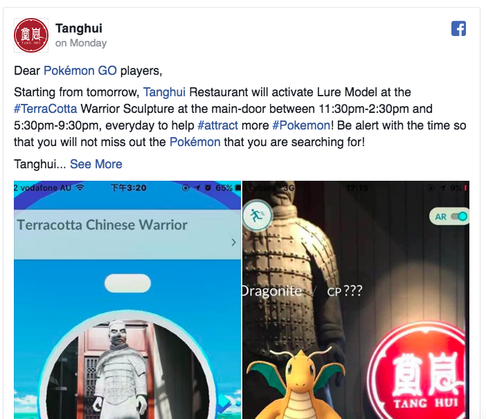 Some restaurants are using Pokemon GO as a marketing tool, boosting weekend profits.