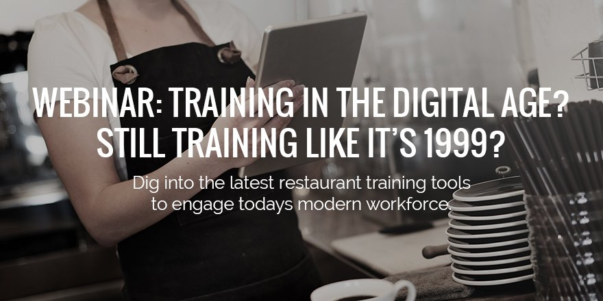 Download our free webinar to get started with digital restaurant staff training