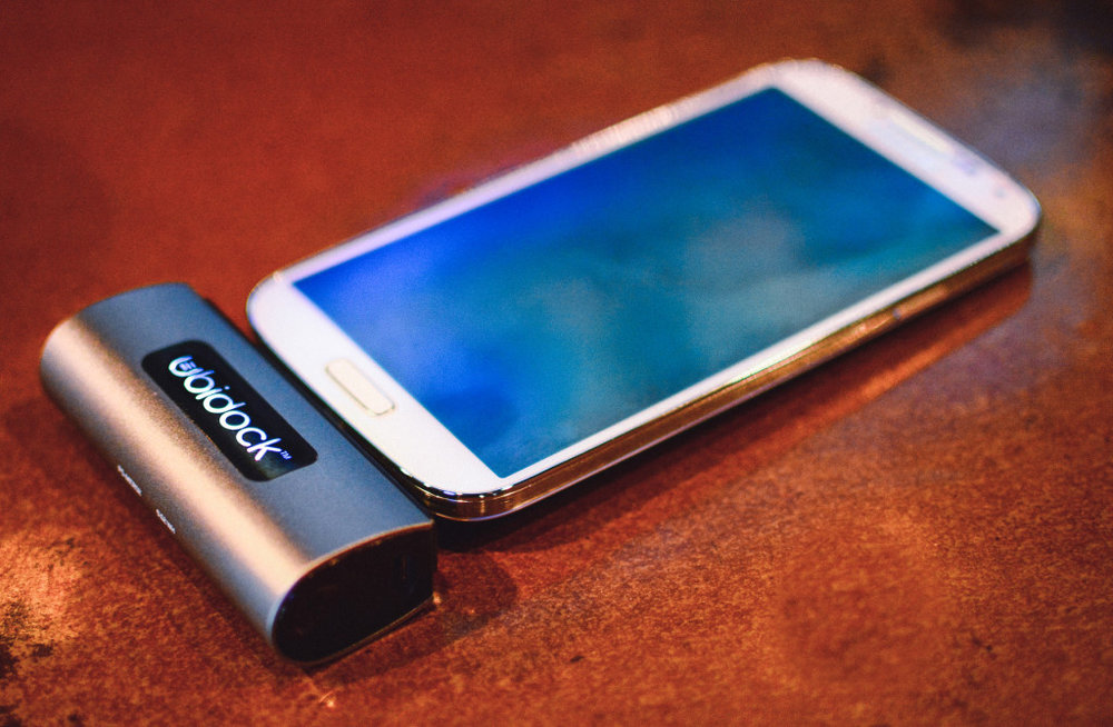 Ubidock mobile phone attachment