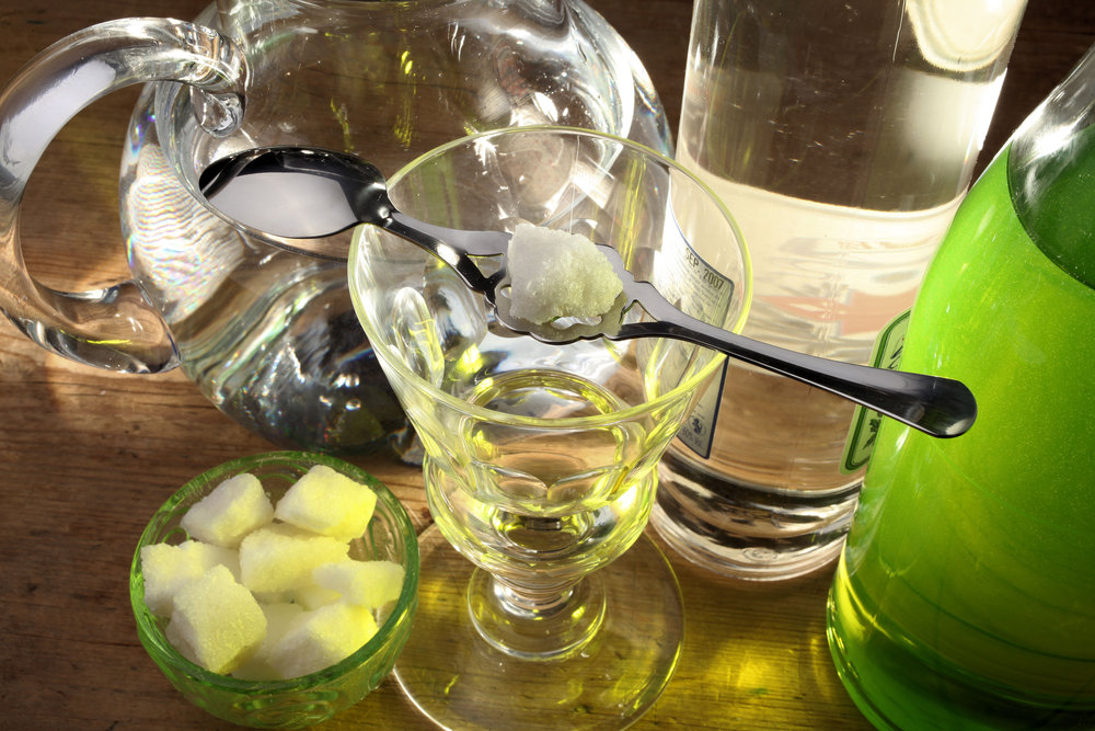 The Green Fairy, a brief history of absinthe in the United States.