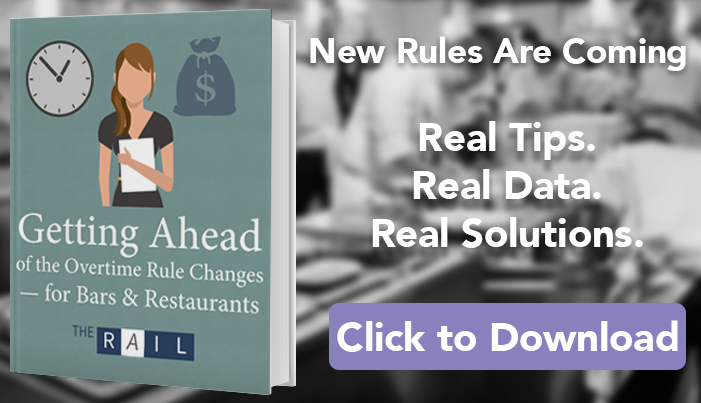 Download the restaurant guide to the new overtime laws.