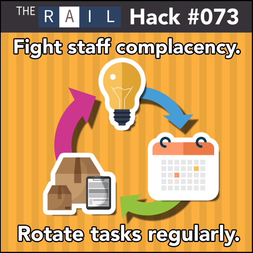 Rotate what responsibilities your restaurant management staff are in charge of to keep things fresh & interesting.
