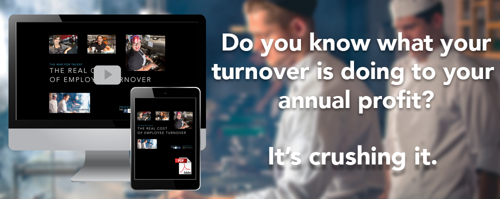 Restaurants lose an average of $146,000 a year due to employee turnover. Learn what you can do about it in this  free download guide and on-demand video .