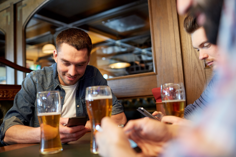 Sports bars can use wifi to enhance the guest experience and also build their email list.