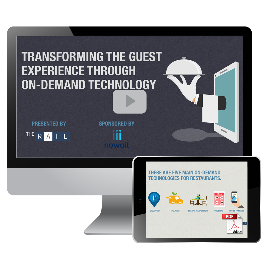 Download the restaurant guide: Transforming the Restaurant Guest Experience Through On-Demand Technology