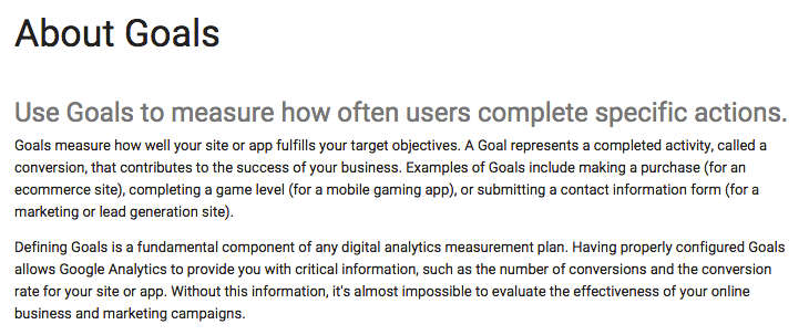 Restaurants should set up Google Analytics goals for their websites