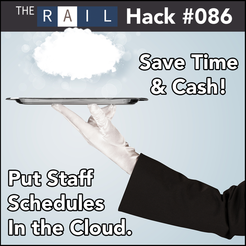 Restaurant staff tip: Use online scheduling in the cloud to save time & money on restaurant staff scheduling.