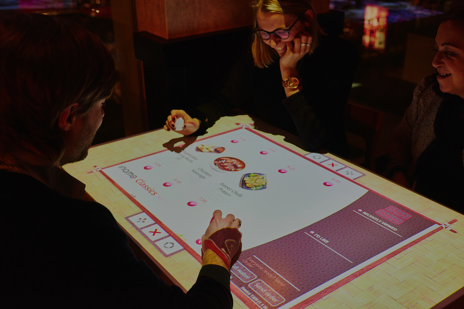 How Inamo Restaurant Has Embraced Interactive Dining The Rail - Restaurant table games