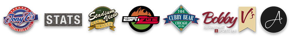 These award-winning sports bars use the SportsTV Guide.