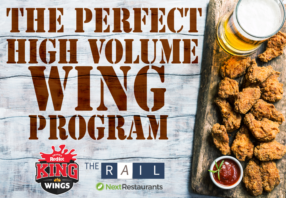 Download the ebook: 'The Perfect High-Volume Wing Program.'