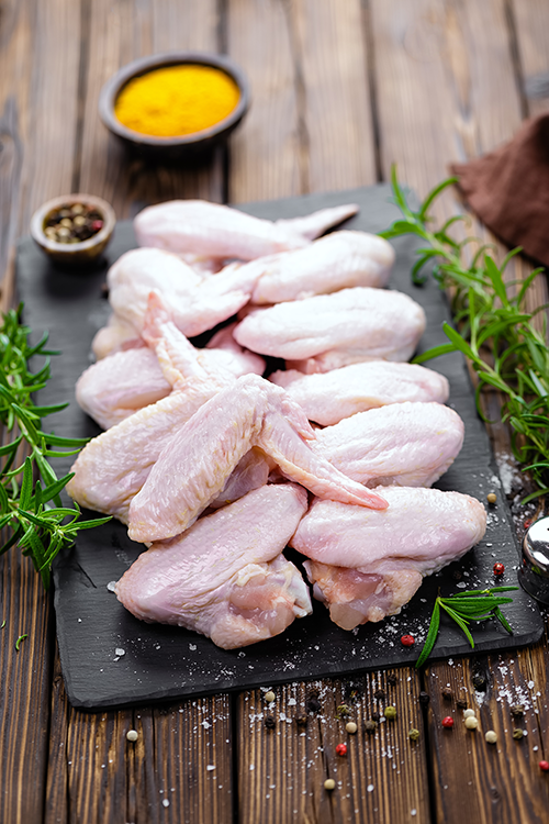 Here are a few tips for precooking your chicken wings to keep up with guest demands.