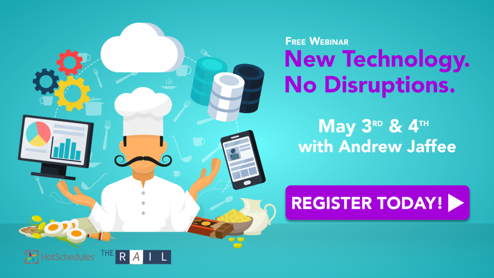 Register for the free Implementing New Restaurant Technology webinar