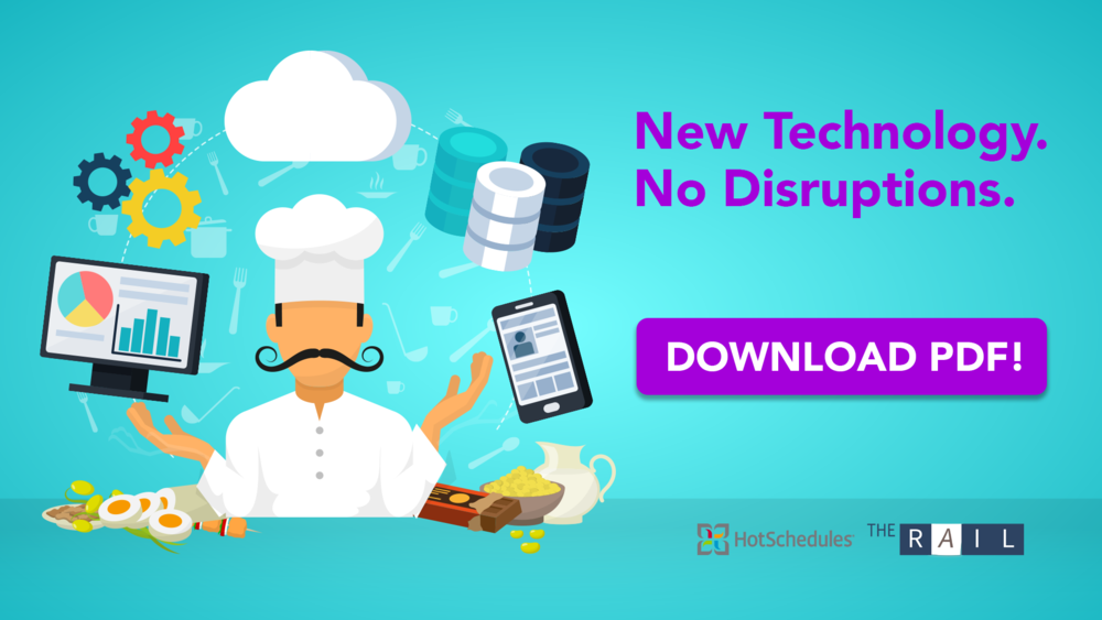 Implementing new restaurant technology doesn't need to disrupt your business.