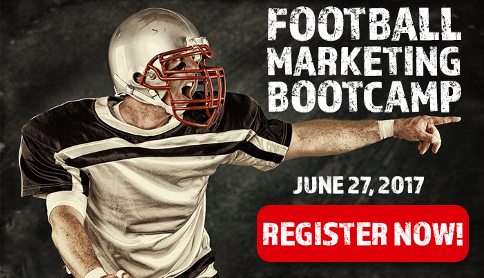 Register now for the Football Marketing Bootcamp
