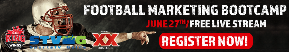 Register today for the Football Marketing Bootcamp