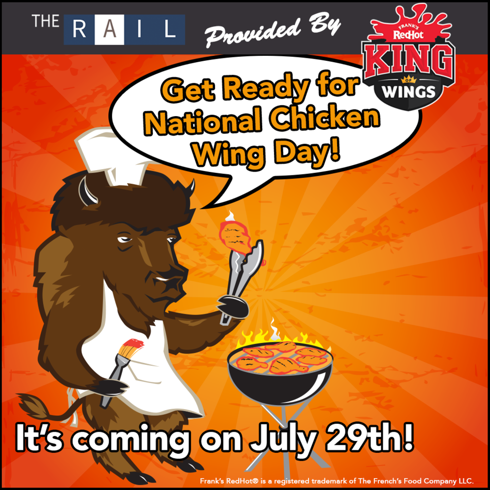 Restaurant marketing tip: Get ready for National Chicken Wing Day on July 29th!