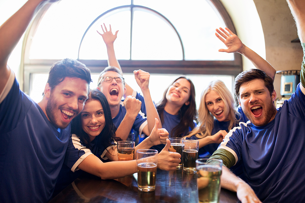 For successful sports restaurant promotions, team up with national chains for your local guests.