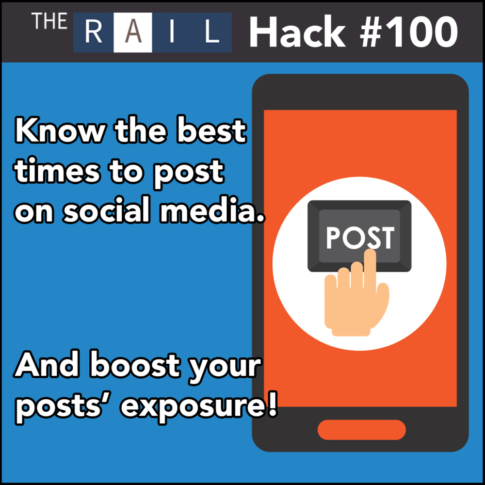 Restaurant social media tip: Know the best time to post on your restaurant's social media accounts.