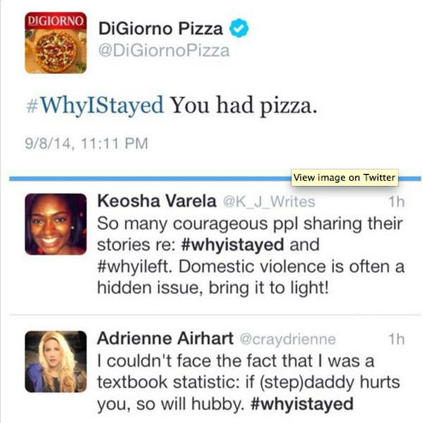 DiGiorno Pizza also fell to poor restaurant social media fails.