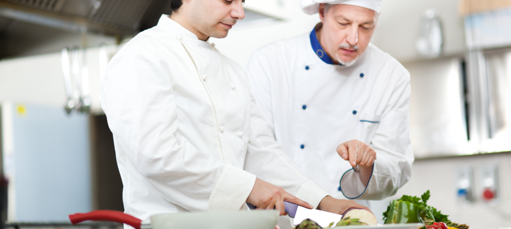 Train your restaurant staff in areas of interest and usefulness