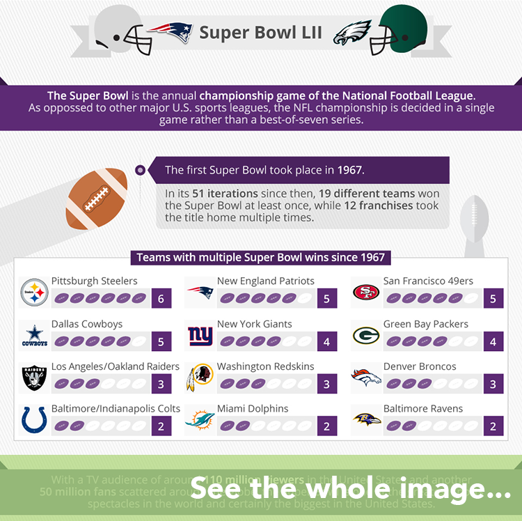 Super Bowl LI infographic