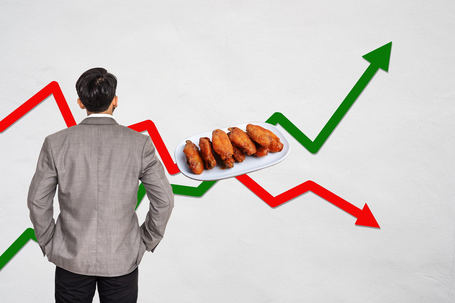 The Daily Rail How Restaurants Are Adapting To Changing Price Detailed Chicken Wing Diagram Of A Wings