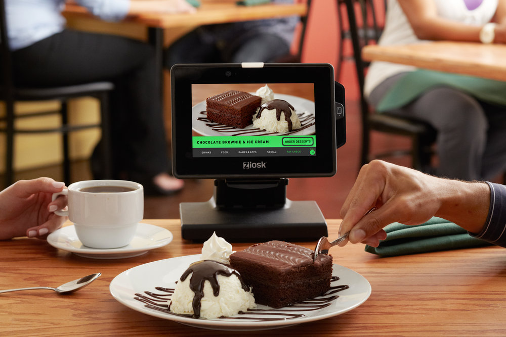Restaurant tabletop technology like tableside tablets can turn ordering into a visual experience.