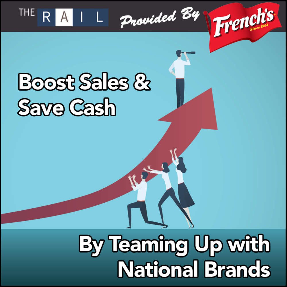 Boost Restaurant Sales & Save Cash by Teaming Up with National Brands
