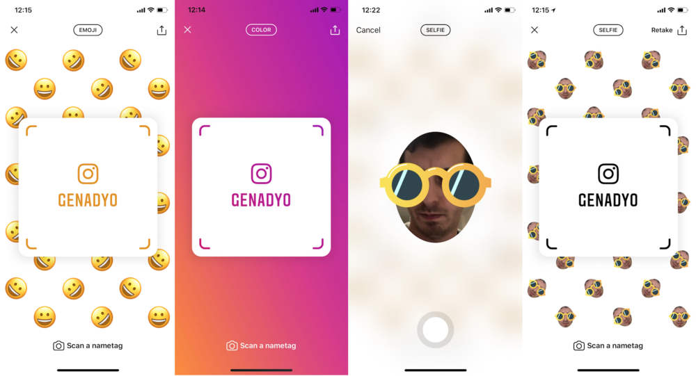 Restaurants can utilize the Instagram nametag feature to make it easier for guests to find their account.