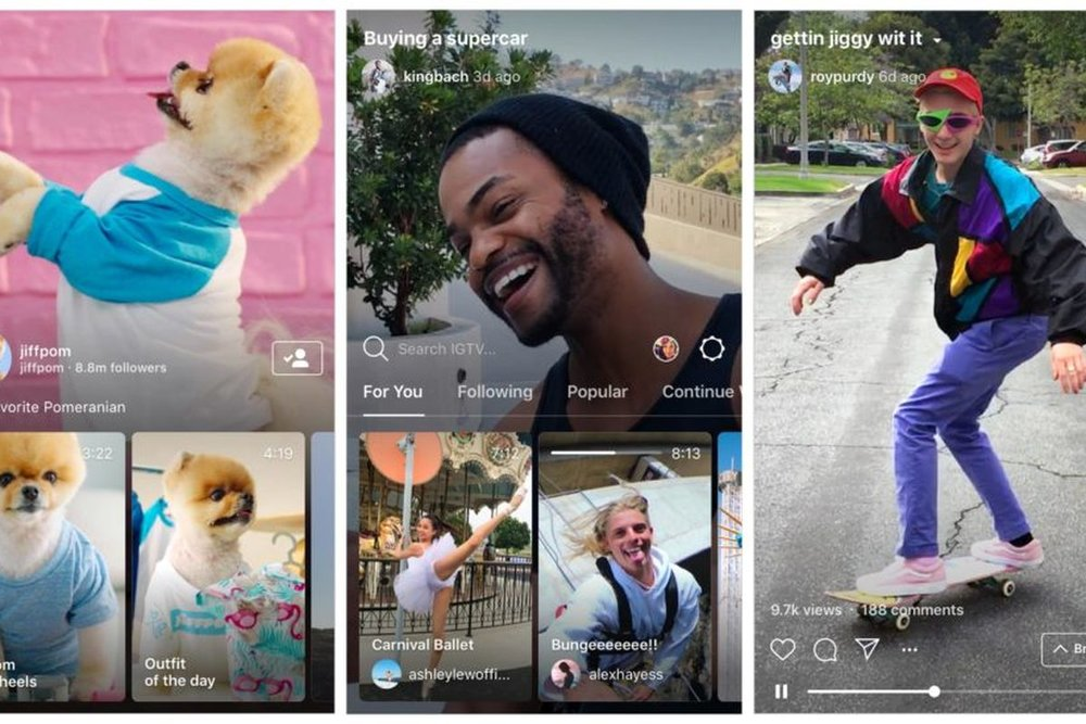 IGTV allows restaurants to post longer videos to their Instagram accounts