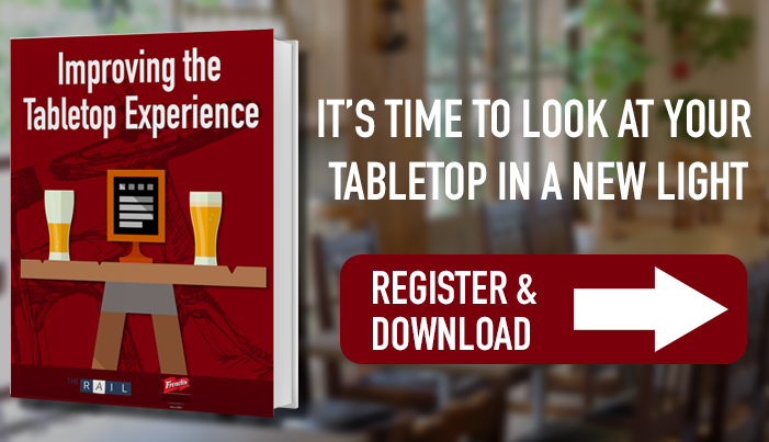 Improve your restaurant guests' tabletop experience.