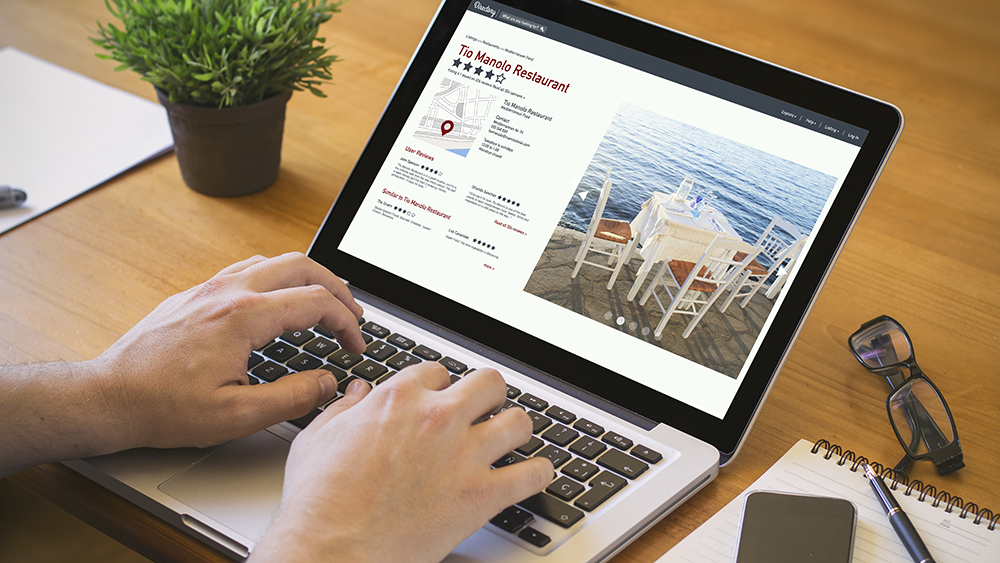 Organize information on your restaurant's website