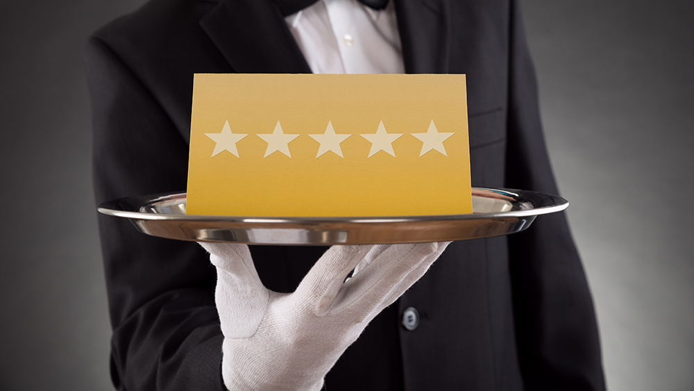 Restaurants should try to get as many positive reviews from guests as they can.