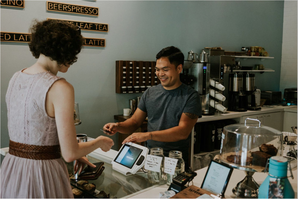 Jonathan Pascual, founder and owner of Taproom Coffee in Kirkwood || Outlander Photography