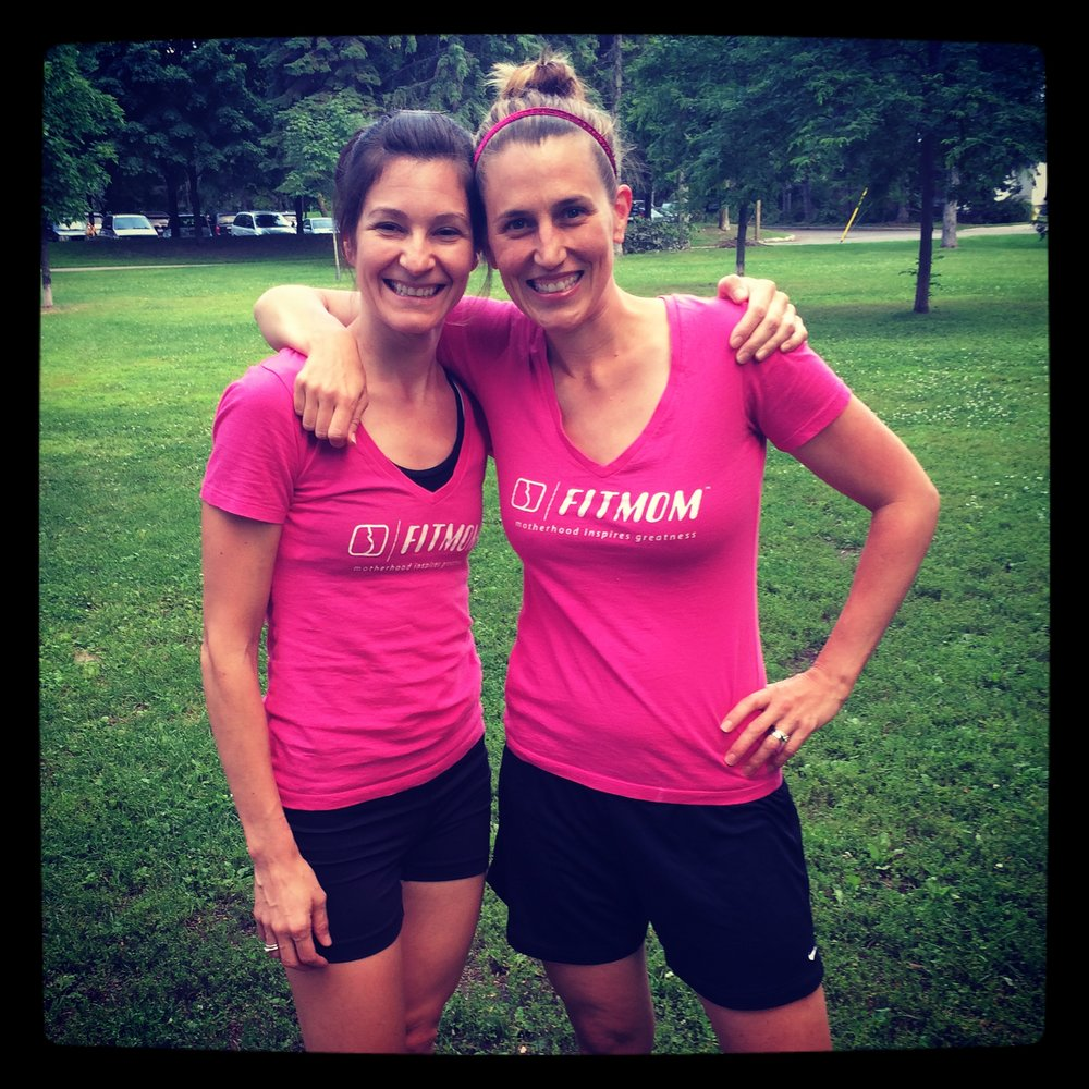 FITMOMs Jackie & Kim - Summer 2014
