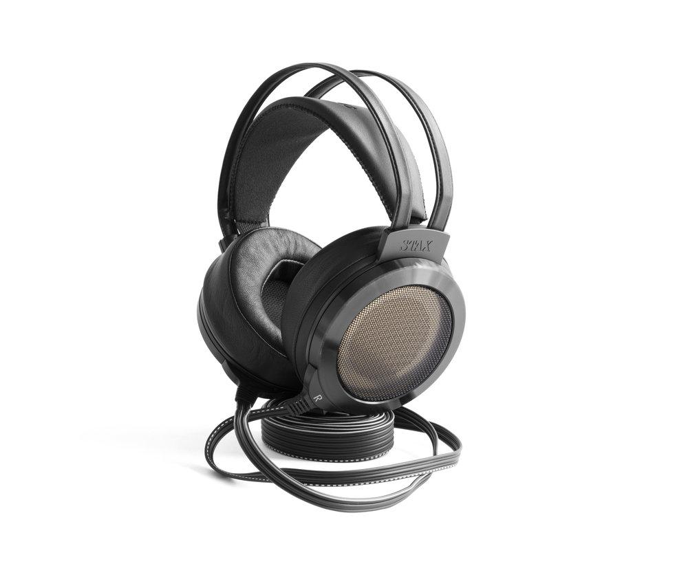 Woo audio stax sr 007mk2 electrostatic earspearkers - Woo headphone stand ...