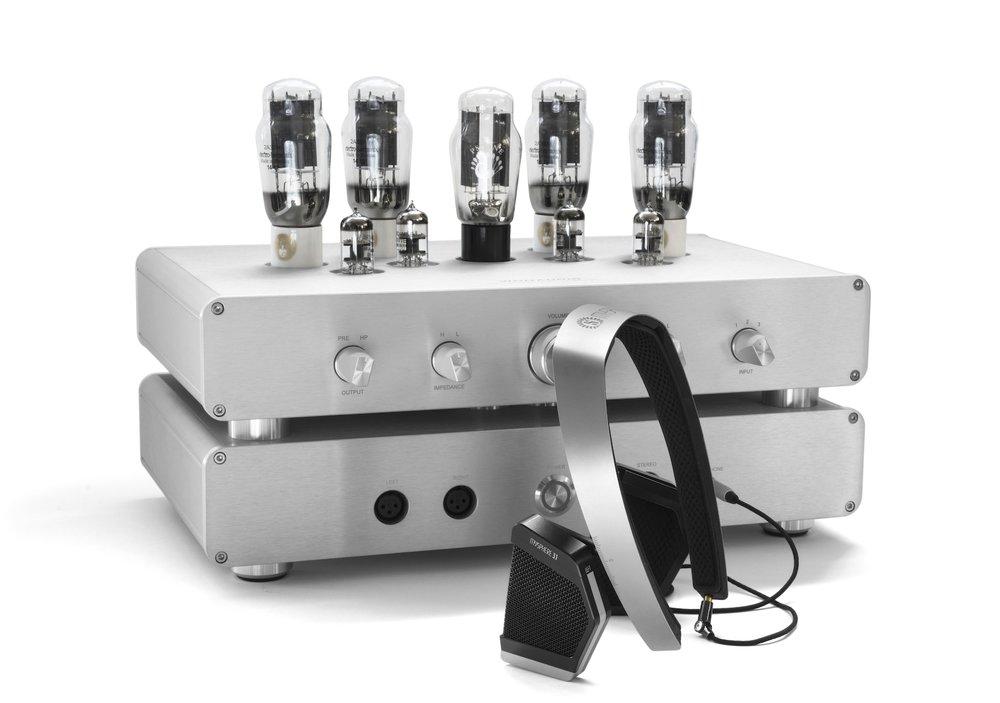 WA33 amplifier and MYSPHERE 3.1 headphone