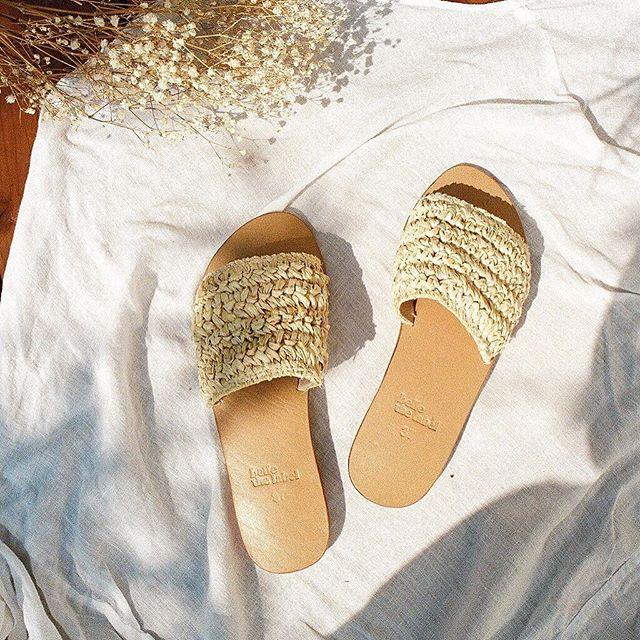 Sol Slides ☼ island essentials... 〰Shop now on www.bellethelabel.com