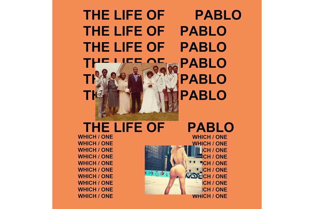 Cover Art for The Life of Pablo
