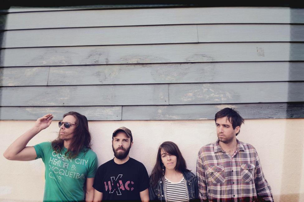 Hop Along is a Philadelphia-based rock band.