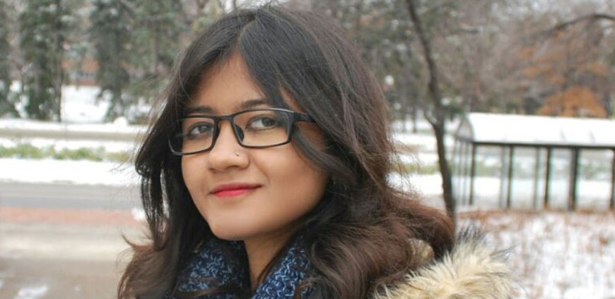 from india to the u of m: Meet graduate student Sreyashi Ray - By Kyle TsuchiyaALL graduate student Sreyashi Ray ventured all the way from India to pursue a PhD in Asian Literatures, Cultures and Media. She was drawn to the University of Minnesota by the significant research work being done by UMN faculty and recommendations from professors at her alma mater. Learn more about her research interests and her experience at UMN.