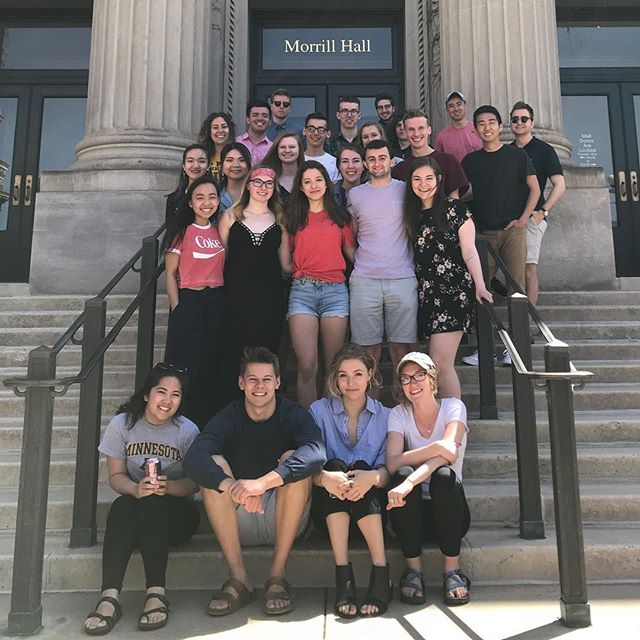 Our last lab today was filled with memories, laughs, and sun! Thanks to everyone who made 4.5 amazing - we can't wait to see what 5.0 brings!  #clagency #umnproud #friends #nostalgia