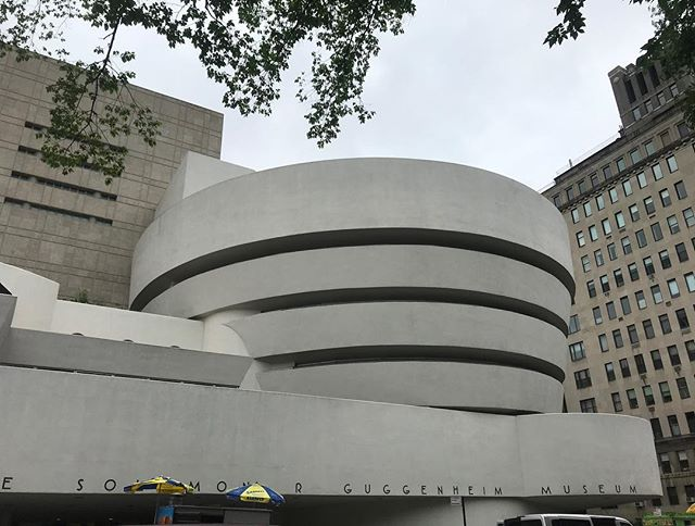 Our amazing creative director @ktdrakulic is in New York City for the summer working as a family programs intern in the education department for the Guggenheim! No big deal... . . . . . #summer #newyorkcitylife #art #clagency #creative