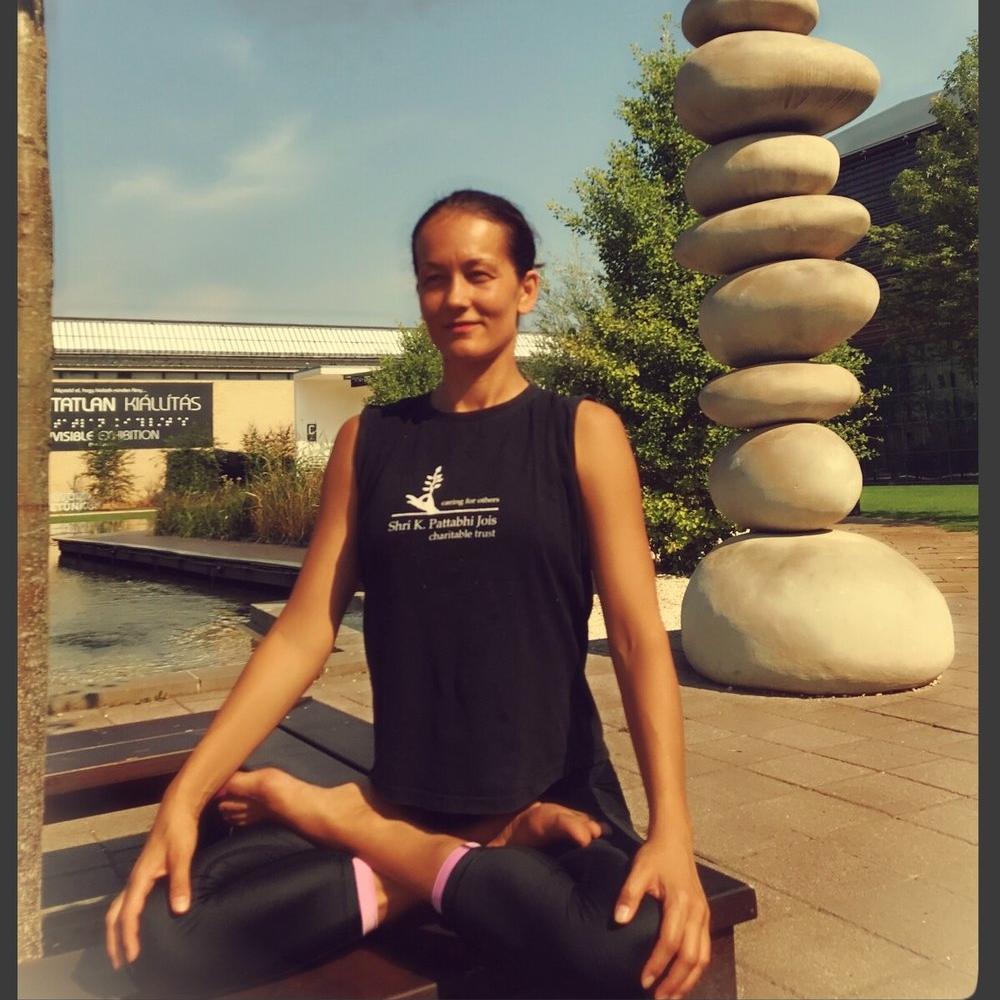 milena jovanovic astanga yoga budapest