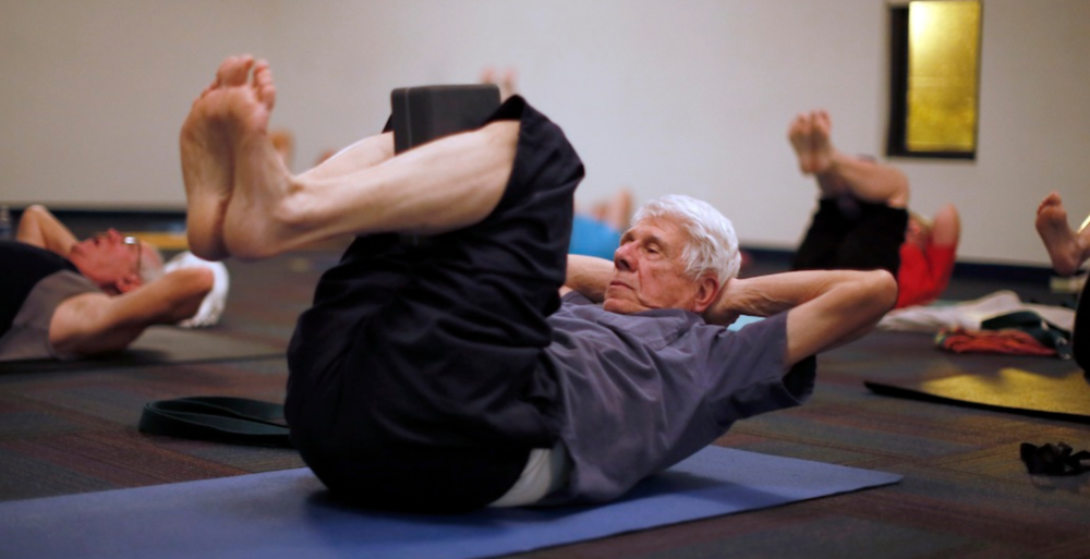 Read more - Elderly Brains Get a Boost From Yoga