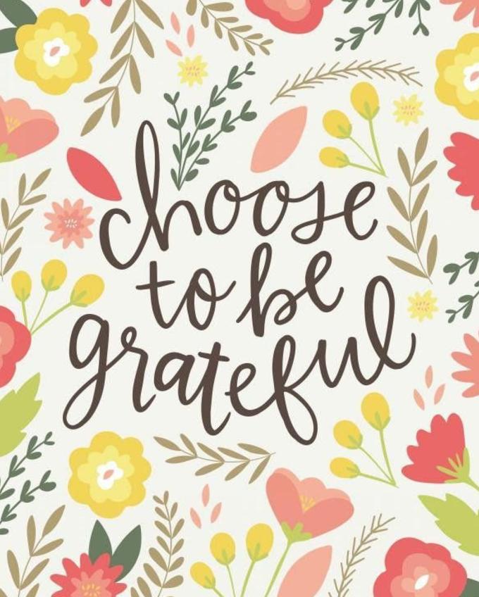 Celebrate gratitude this week!