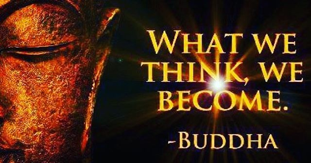 """#TGIF a bit of #friday advise from the """"What we think we become"""" #Buddha What is your favorite Buddha quote? #acupuncture #ACNJ #wellness #dharma"""